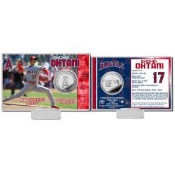 Shohei Ohtani MLB Pitching Debut Silver Coin Card