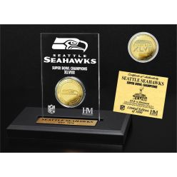 Seattle Seahawks Super Bowl Champs Etched Acrylic