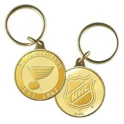 St. Louis Blues Bronze Team Keychain