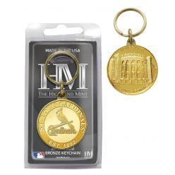 St. Louis Cardinals Bronze Team Keychain