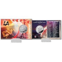 NFL Super Bowl LVI (56) Silver Coin Card