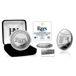 Tampa Bay Rays Silver Coin