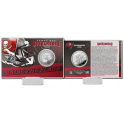 Tampa Bay Buccaneers 2020 Team History Coin Card