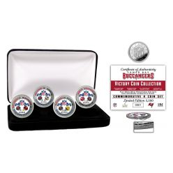 Tampa Bay Buccaneers Super Bowl 55 Victory Silver Mint Coin Set