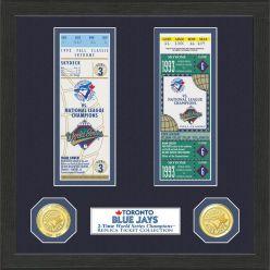 Toronto Blue Jays World Series Ticket Collection
