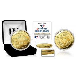 "Toronto Blue Jays ""Stadium"" Gold Mint Coin"
