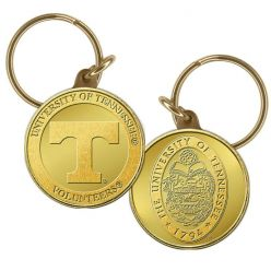 University of Tennessee Bronze Coin Keychain