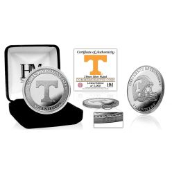 University of Tennessee Volunteers Silver Mint Coin