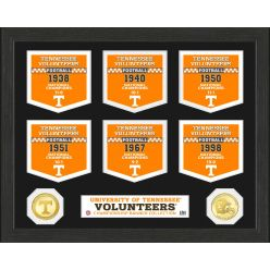 University of Tennessee Volunteers National Champions Banner Collection Photo Mint