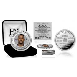 Ty Law Hall of Fame 2019 Silver Color Coin