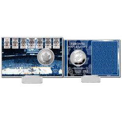 Toronto Maple Leafs History Silver Coin Card