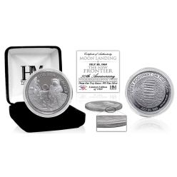 The New Frontier Moon Landing 1 Troy oz .999 Silver Coin