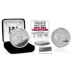 Toronto Raptors 2019 NBA Finals Champions First Title In Franchise Silver Coin
