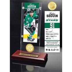 Tyler Seguin Ticket & Bronze Coin Acrylic Desktop