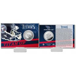 Tennessee Titans 2020 Team History Coin Card