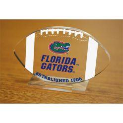 University of Florida Etched Football Acrylic