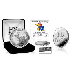 University of Kansas Jayhawks Silver Mint Coin