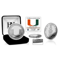 University of Miami Hurricanes Silver Mint Coin