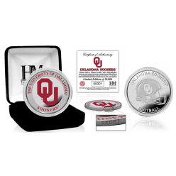 University of Oklahoma Color Silver Coin
