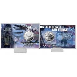 United States Air Force Silver Coin Card