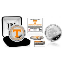 University of Tennessee Color Silver Coin