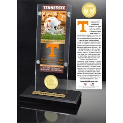 University of Tennessee Ticket & Bronze Coin Acrylic Desk Top