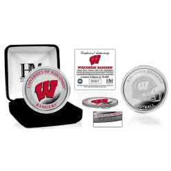 University of Wisconsin Color Silver Coin