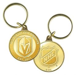 Vegas Golden Knights Bronze Mint Coin Keychain