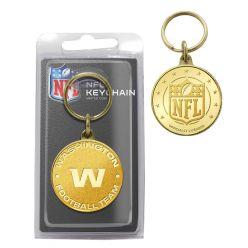 Washington Football Team Bronze Bullion Keychain