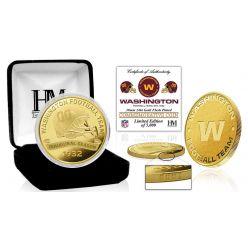Washington Football Team Inaugural Season Gold Mint Coin