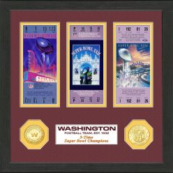 Washington Football Team SB Championship Ticket Collection