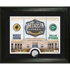 NHL Winter Classic 2020 Silver Coin Photo Mint
