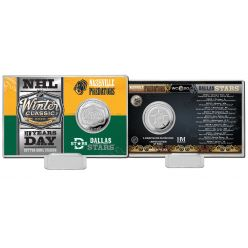 NHL Winter Classic 2020 Silver Mint Coin Card
