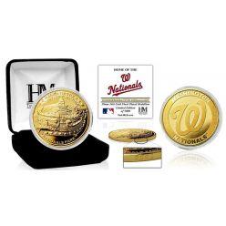 "Washington Nationals ""Stadium"" Gold Mint Coin"