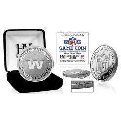Washington Football Team 2020 Silver Mint Game (Flip) Coin