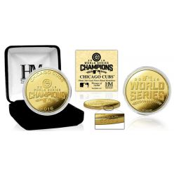 Chicago Cubs 2016 World Series Champions Gold Mint Coin