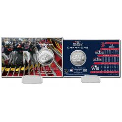 Boston Red Sox 2018 World Series Champions Celebration Silver Coin Card