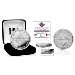 Washington Nationals 2019 World Series Champions 1oz Pure Silver Mint Coin