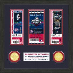 Washington Nationals 2019 World Series Champions Ticket Collection