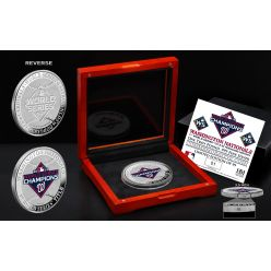 Washington Nationals 2019 World Series Champs 1LB .999 Proof Silver Coin