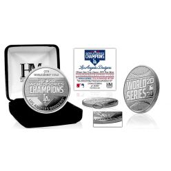 Los Angeles Dodgers 2020 World Series Champions 1oz .999 Pure Silver Mint Coin