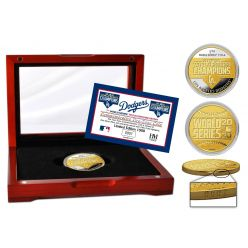 Los Angeles Dodgers 2020 World Series Champions Two-Tone Mint Coin