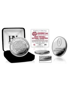 Alabama Crimson Tide 2020/21 Football National Champions 1 Troy oz .999 Pure Silver Mint Coin