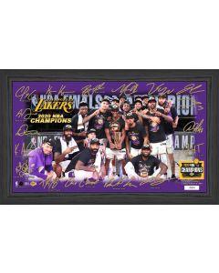 "2020 NBA Finals Champions  Los Angeles Lakers ""Celebration"" Signature Court"