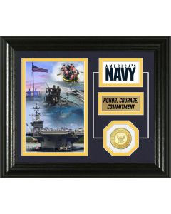 United States Navy Bronze Coin Desktop Photo Mint
