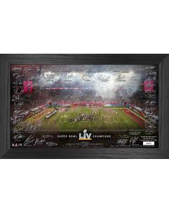 Tampa Bay Buccaneers Super Bowl 55 Champions Signature Celebration Frame