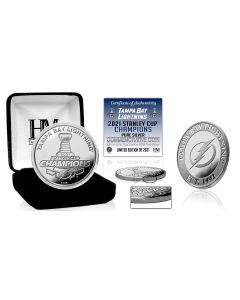 Tampa Bay Lightning 2021 Stanley Cup Champions 1oz .999 Proof Silver Coin