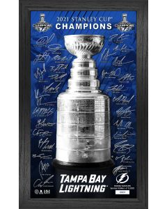 Tampa Bay Lightning 2021 Stanley Cup Signature Trophy