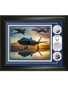 United States Air Force Silver Coin Photo Mint