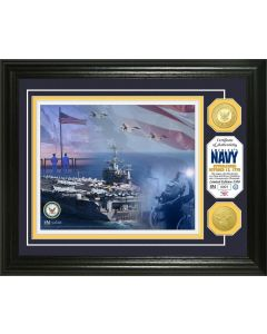 United States Navy Bronze Coin Photo Mint